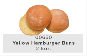 Yello Hamburger Buns