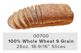 100% Whole Wheat 9 Grain
