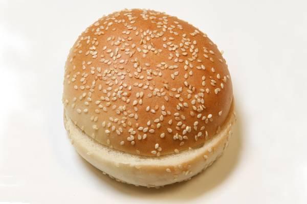 Hamburger On A Hot Dog Bun