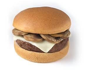 Gluten Free Mushroom Swiss Burger